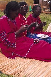 AKT Masai beaders1