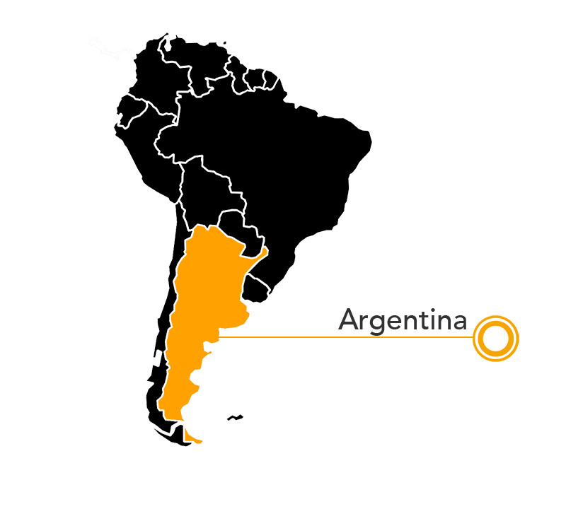 South American Sea Lion map
