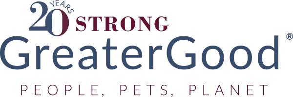 Greater Good 20 Years Logo